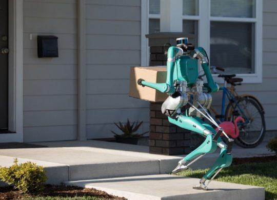 Ford robot livraison