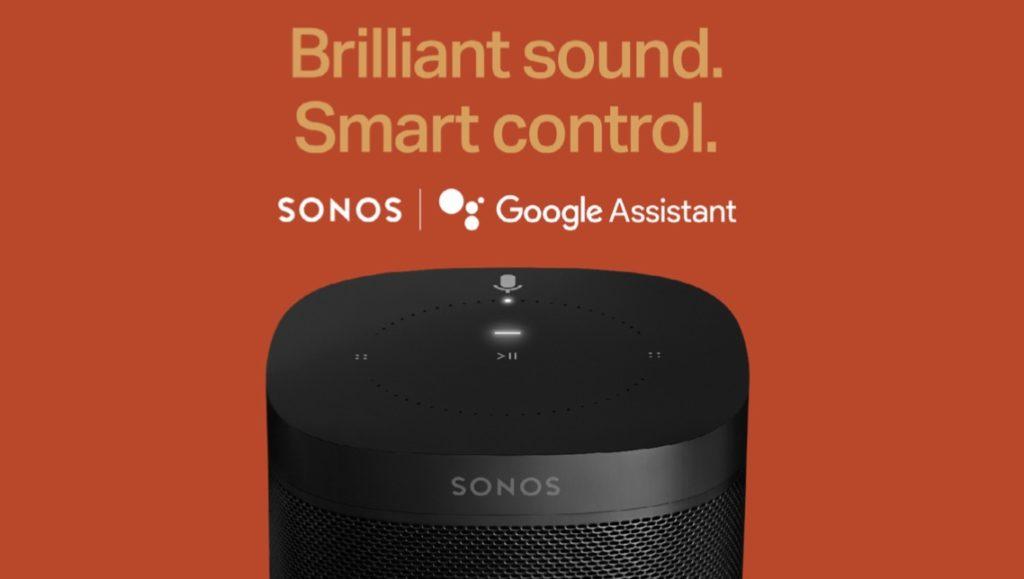 Google Assistant Sonos 1024x579