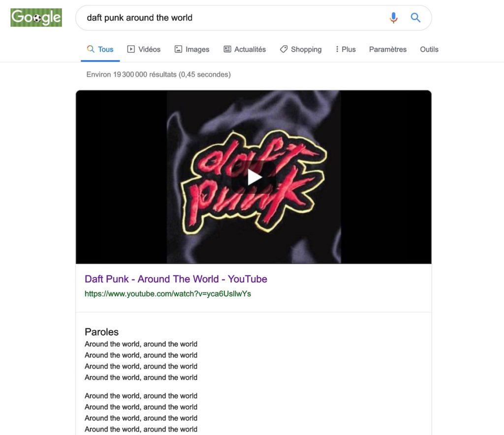 Google Paroles Chansons 1024x885