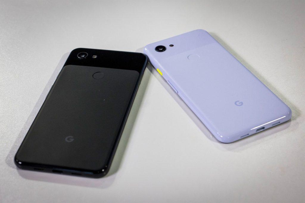 Google Pixel 3a Noir Blanc Arriere 1024x682