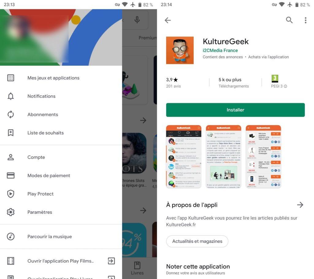 Google Play Store Nouveau Design Mai 2019 2 1024x910