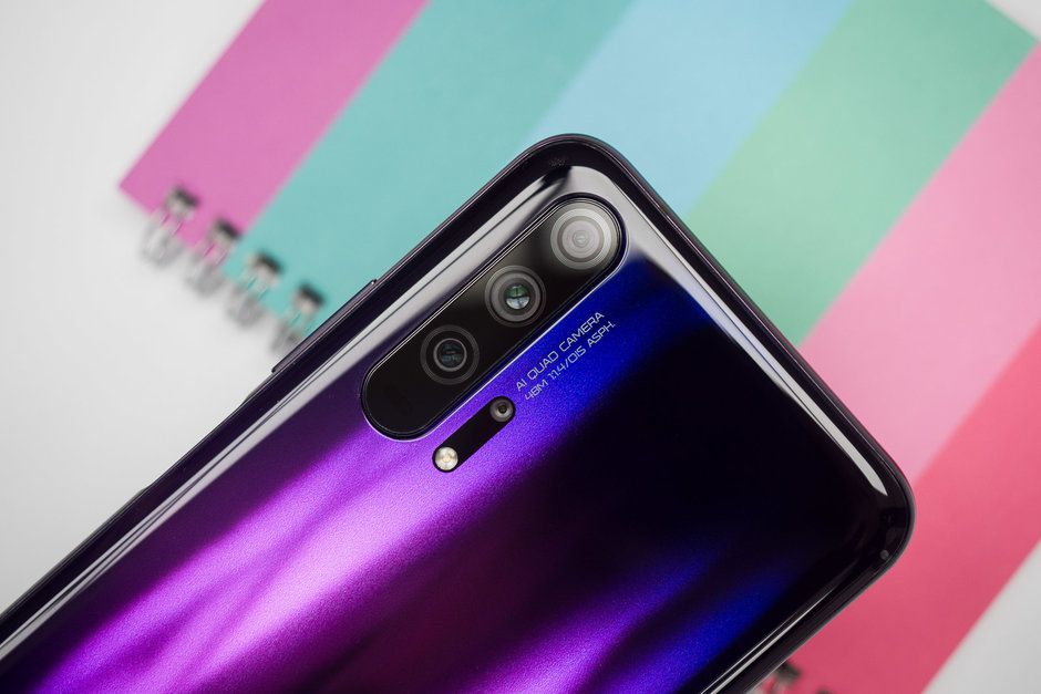 Honor 20 Pro Arriere Appareils Photo