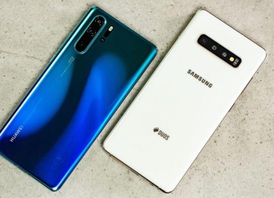 Huawei P30 Pro vs Galaxy S10 Plus