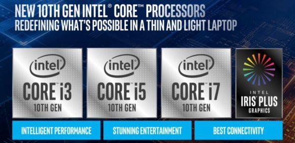 Intel Core 10eme Gen 600x290
