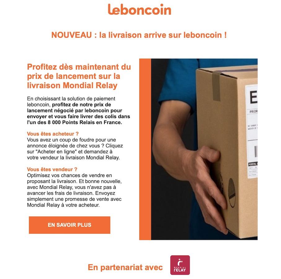 Le Bon Coin Livraison Mondial Relay