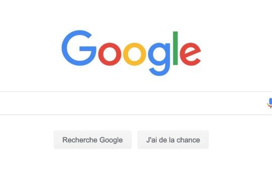 Recherche Google Accueil Arrondi