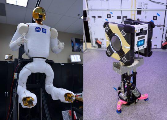 Robonaut astrobee