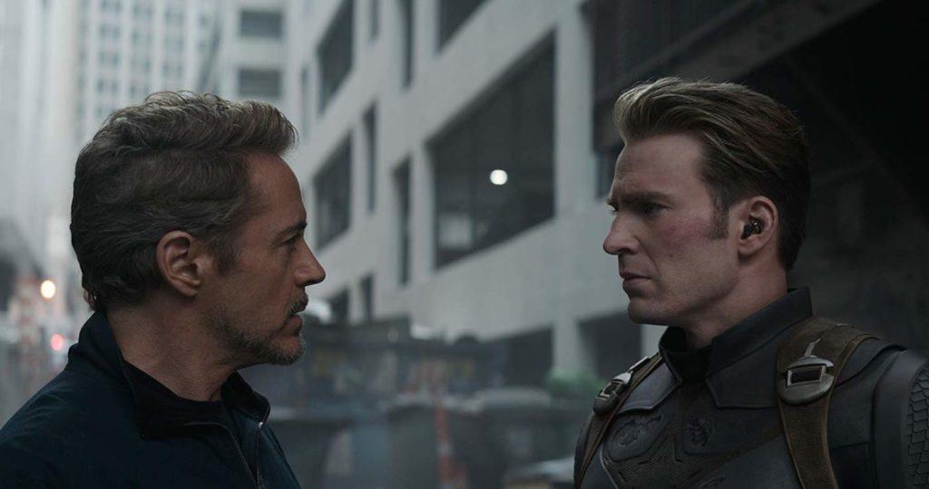 Tony Stark Captain America Avengers Endgame 1024x540