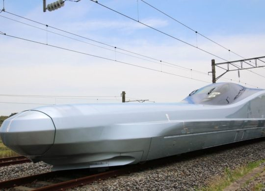 alfa-X japan train