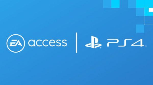 EA Access PS4 600x336