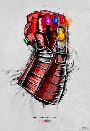 Gant De Thanos Poster 308x450
