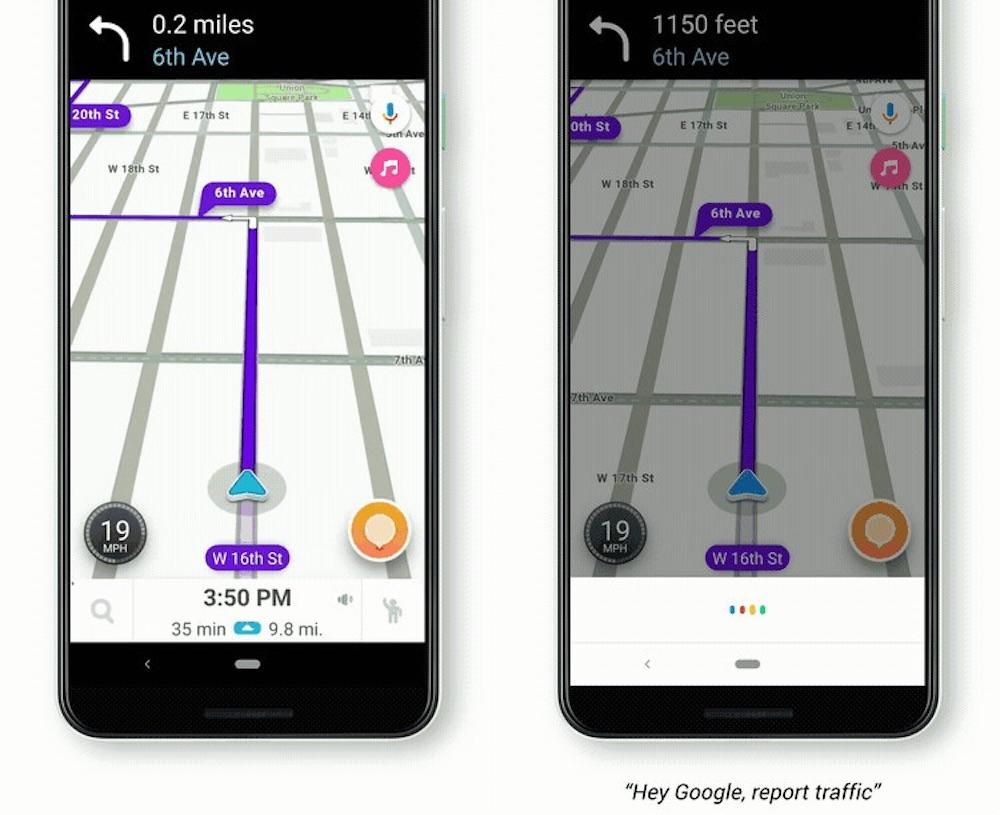Google Assistant Dans Waze Android