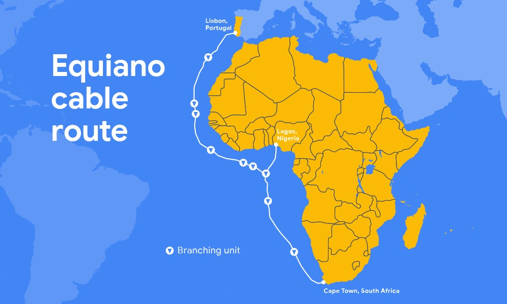 Google Cable Sous Marin Equiano