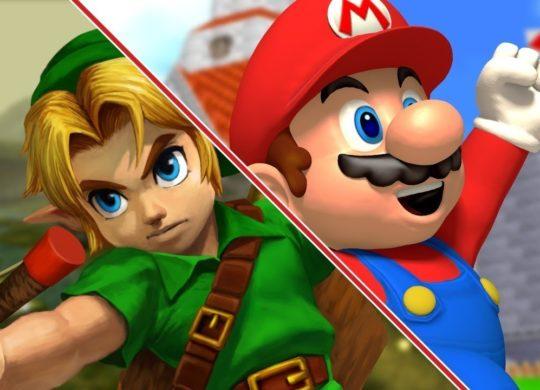 Link Mario
