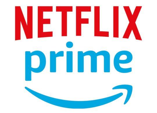 Netflix vs Amazon Prime Video Logos