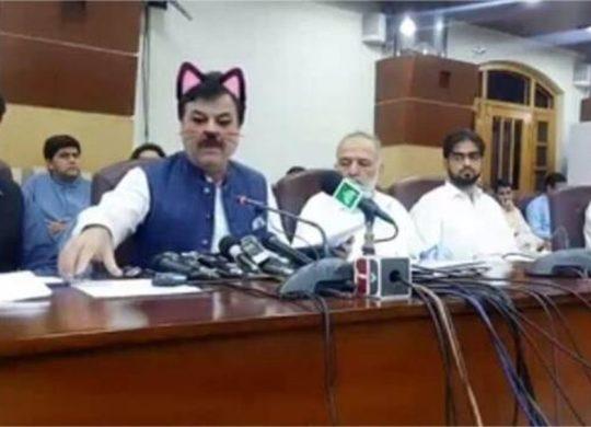 Pakistan cat ears facebook live