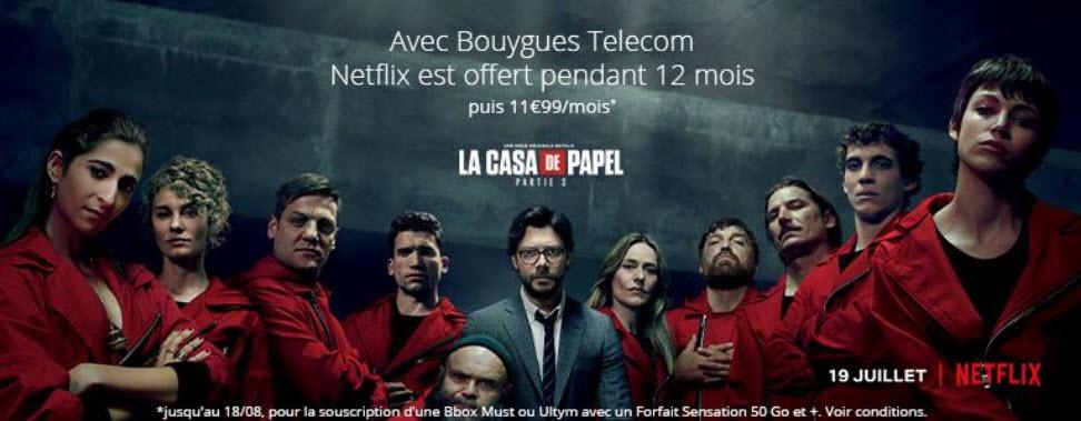 Promo Netflix Gratuit Avec Bouygues Telecom