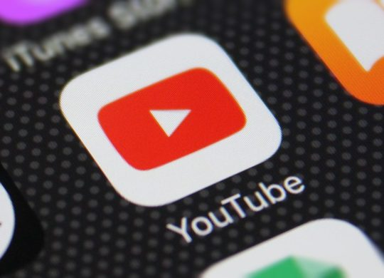 Icône de l'application YouTube