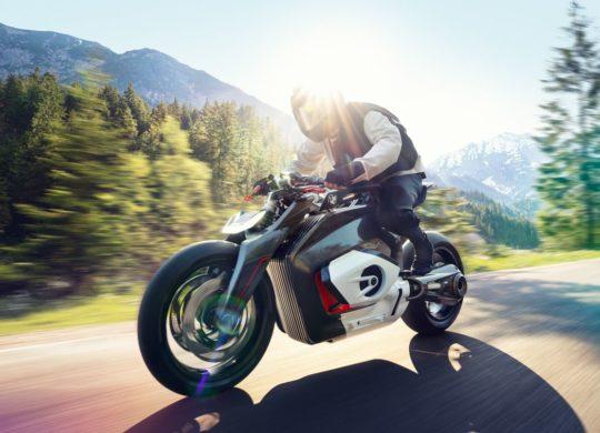 concpet moto electrique BMW