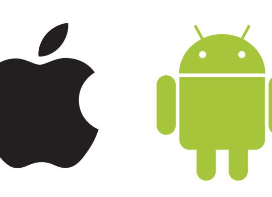 iOS Android Logos