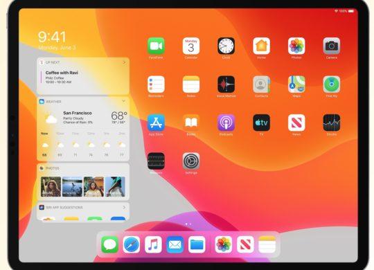 iPadOS 13 iPad Pro