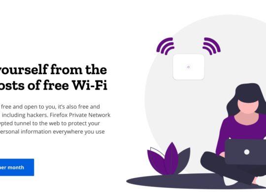 Firefox Tease Abonnement VPN