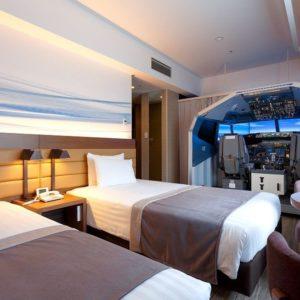 Un hôtel de Tokyo propose une chambre& avec un simulateur de vol de Boeing 737