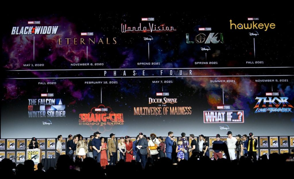 Marvel MCU Phase 4 Calendrier 1024x625