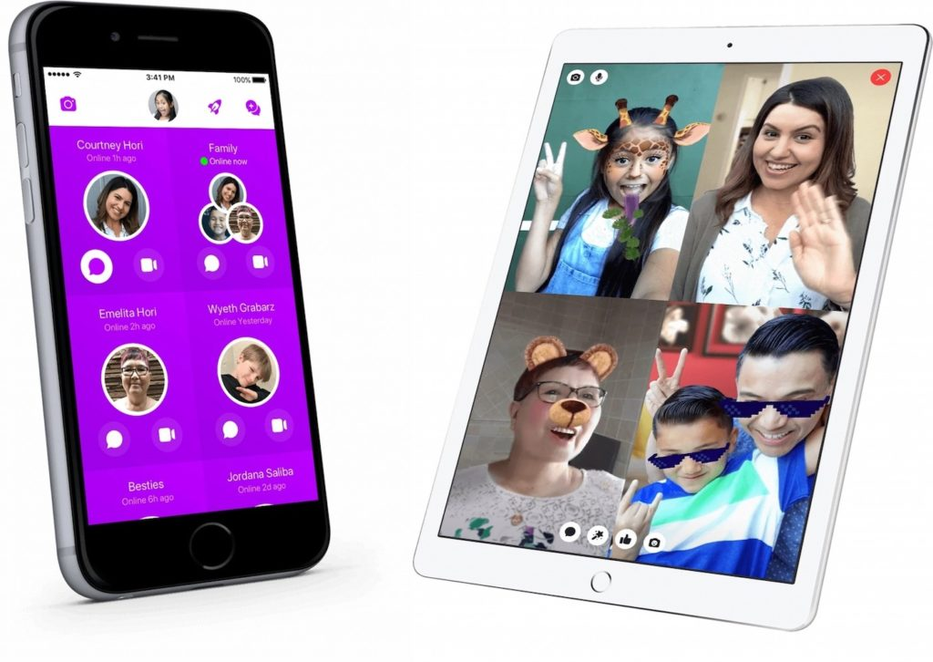 Messenger Kids Application 1024x726