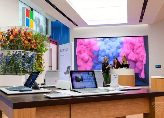 Microsoft Store Londres 2