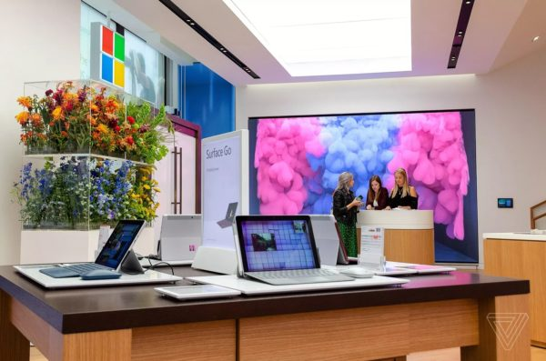 Microsoft Store Londres 2 600x397