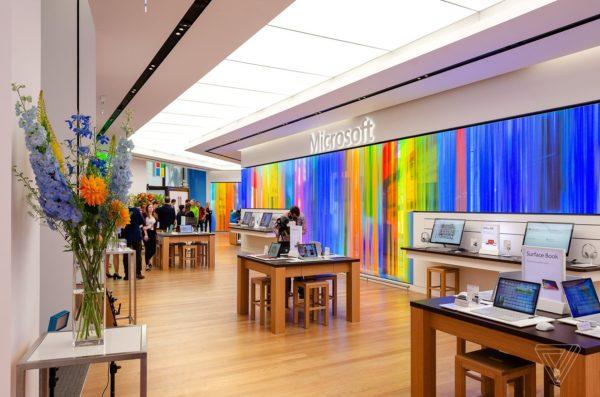 Microsoft Store Londres 600x397