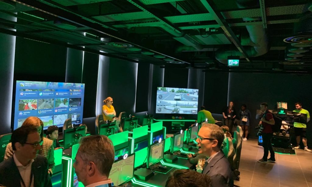 Microsoft Store Londres Espace Gaming 1024x614