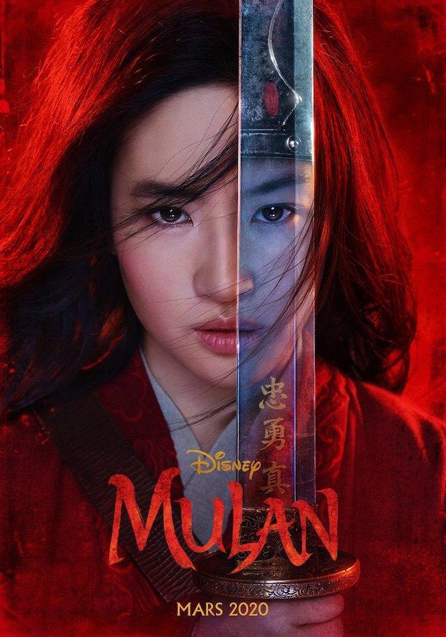 Mulan 2020 Affiche