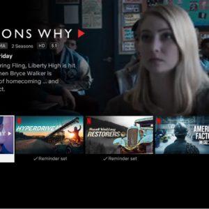 Netflix dévoile les films et séries qui sortent avec une section dédiée