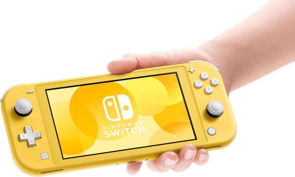 Nintendo Switch Lite Jaune 1024x614
