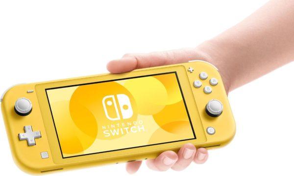 Nintendo Switch Lite Jaune 600x360