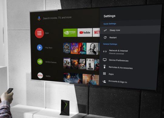 Nvidia Shield TV Android Pie