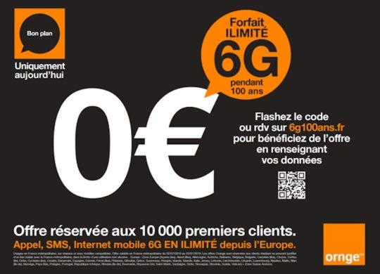 Orange Campagne Phishing 6G