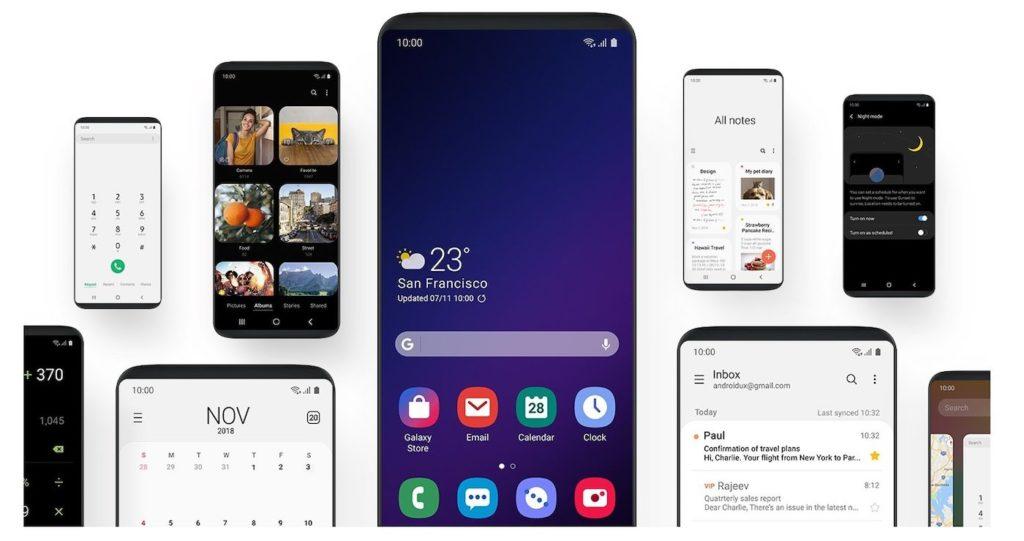 Samsung One UI 1.0 1024x541