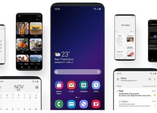 Samsung One UI 1.0