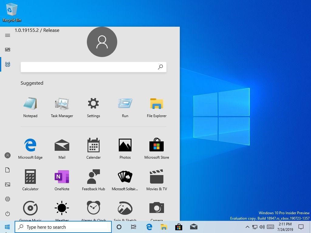 Windows 10 Fuite Nouveau Menu Demarrer 1024x768