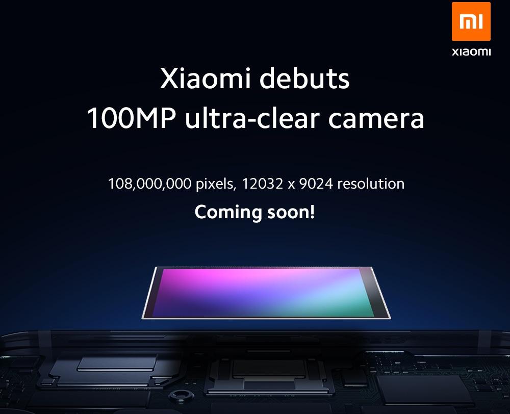 Xiaomi Capteur Photo 108 Megapixels