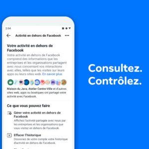 Facebook vous permet de supprimer les données partagées avec les sites et applications
