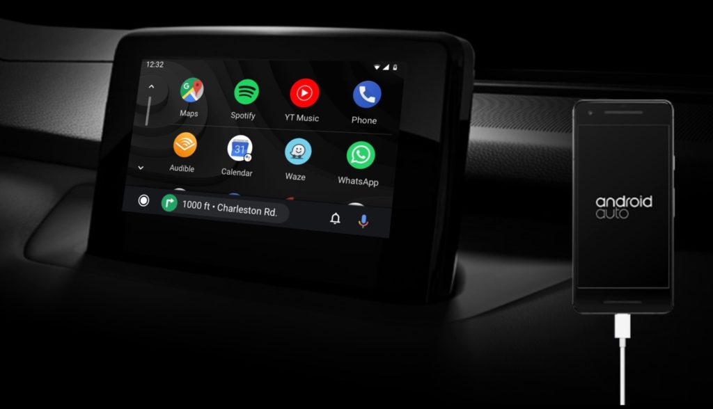 Android Auto 1024x588