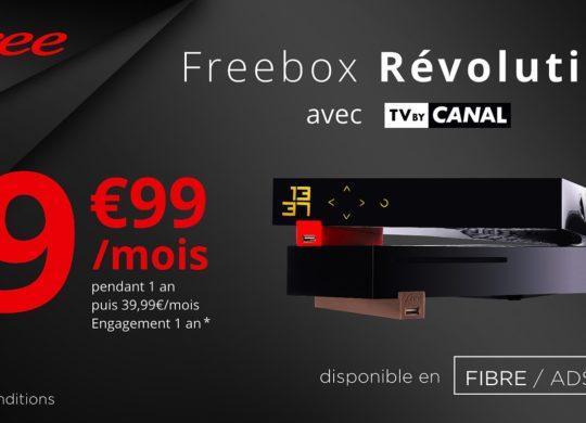 Freebox Revolution Promo Aout 2019