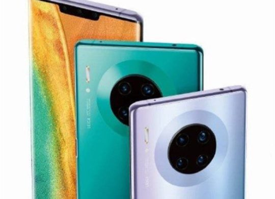 Fuite Huawei Mate 30