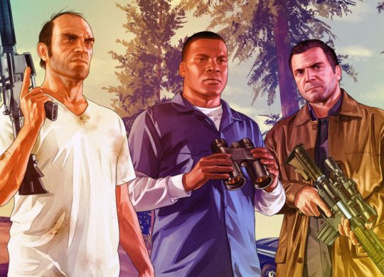 GTA 5 Trevor Franklin Michael