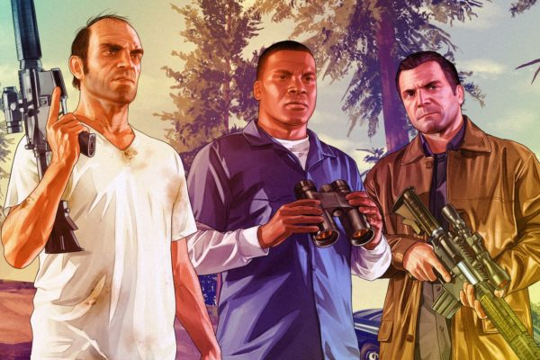 GTA 5 Trevor Franklin Michael 600x400