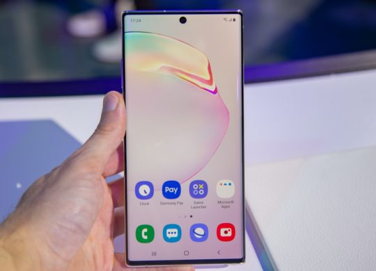 Galaxy Note 10 Avant Ecran
